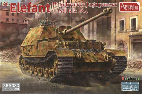 Schwerer Jagdpanzer Elefant with Interior1/35