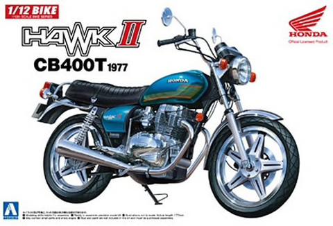 Honda Hawk II CB400T 1977  1/12