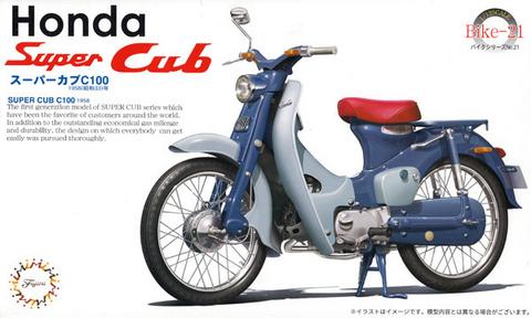 Honda Super Cub C100 1958  1/12