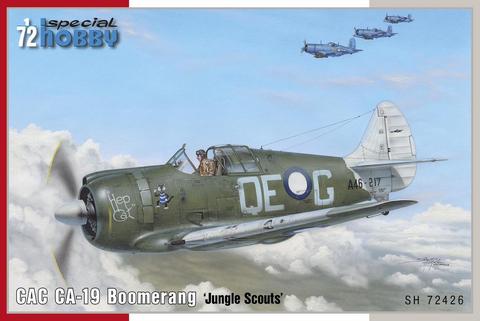 "CAC CA-19 Boomerang ""Jungle Scouts""  1/72"