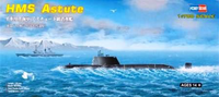 HMS Astute British Navy Submarine  1/700