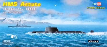 HMS Astute British Navy Submarine  1/700