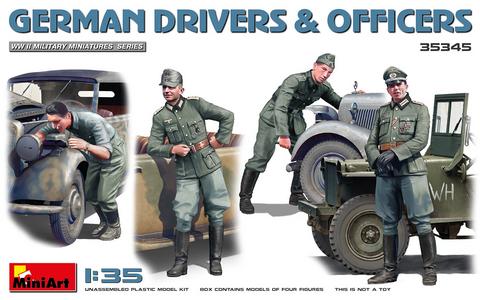 German Drivers & Officers. 1/35