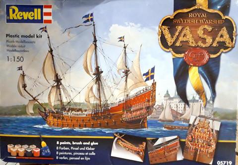 Royal Swedish Warship Vasa Gift Set  1/150