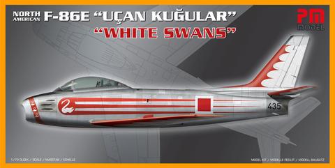 "North-American F-86E Sabre ""Ucan Kugular"" ""White Swans""  1/72"