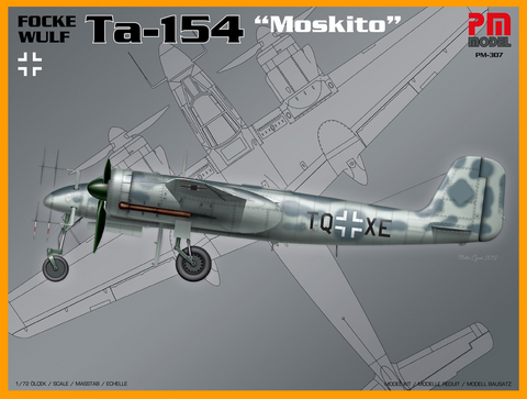 Focke Wulf Ta-154 Moskito  1/72