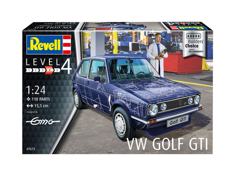 Volkswagen Golf GTI Series 1  1/24