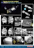 Apollo 13 CSM Odyssey + LM Aquarious