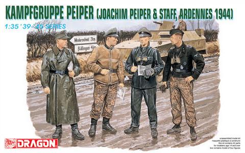 Kampfgruppe Peiper (Joachim Peiper & Staff, Ardennes 1944)  1/35