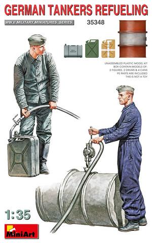 German Tankers Refueling   1/35