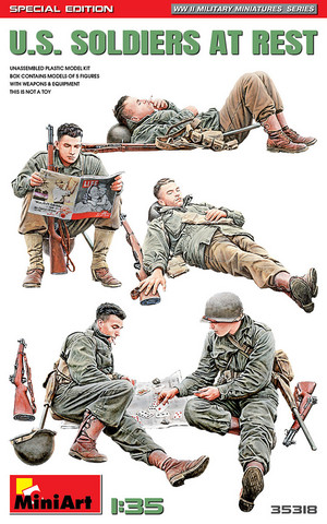 U.S. Soldiers at Rest (Special Edition)  1/35
