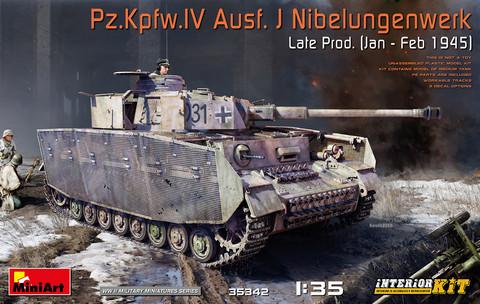 PzKpfw IV Ausf.J Late Prod. (Jan-Feb 1945) Nibelungenwerk (Interior kit)