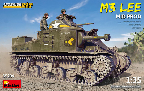 M3 Lee Mid Production (Interior Kit)  1/35