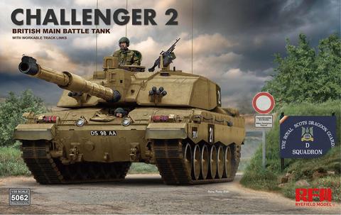 Challenger 2 British MBT wit Workable Tracks  1/35