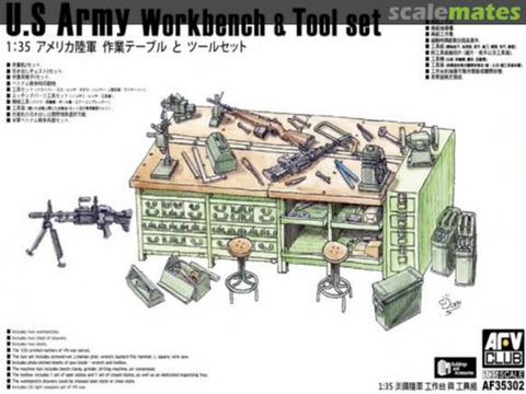U.S Army  Workbench & Tool Set1/35