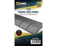 Engine Grid for T-34 Family  1/35