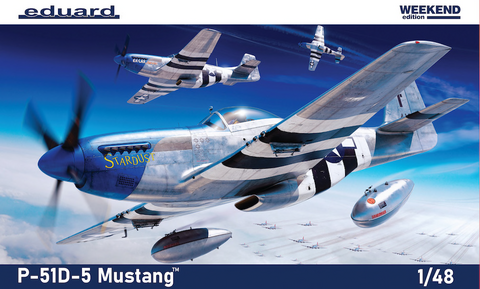 """North-American P-51D-5 Mustang """"Weekend Edition""""  1/48"""