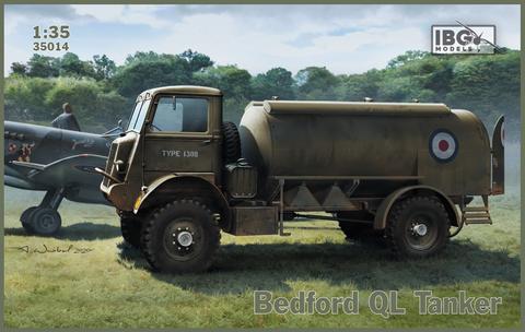 Bedford QL Petrol Tanker  1/35