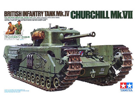 Churchill Mk.VII British Tank	1/35