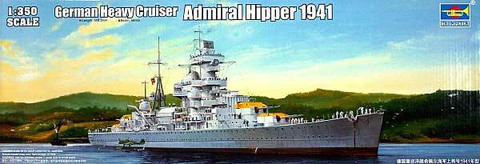 Admiral Hipper German Heavy Cruiser  1/350