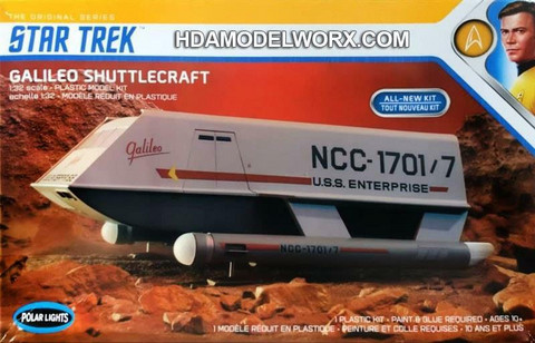 Galileo Shuttlecraft (Star Trek)  1/32