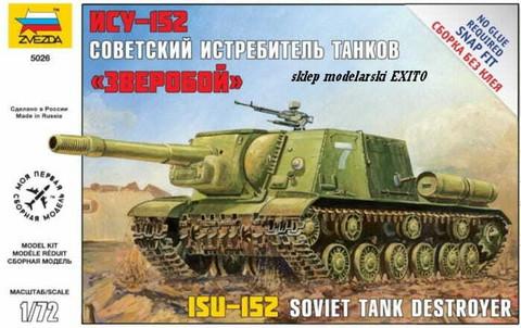 JSU-152 Soviet Self Propelled Gun  1/72