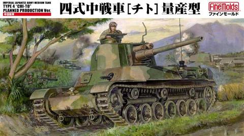 IJA Medium Tank Type 4 Chi-To  1/35