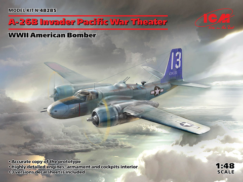 A-26 Invader Pacific War Theatre WWII American Bomber 1/48