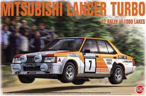 Mitsubishi Lancer Turbo '82 Rally Of 1000 Lakes   1/24