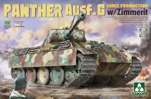 Panther G Early Production with Zimmerit  1/35