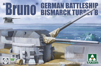 """Bruno"" Battleship Bismarck Turret B  1/72"
