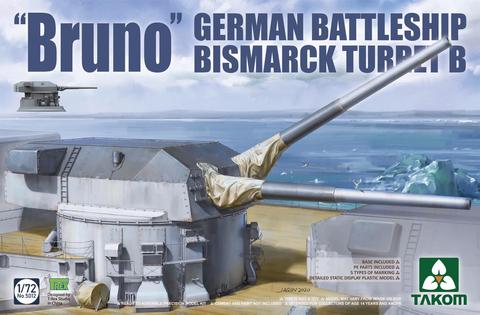 """Bruno"" Bismarck Turret B  1/72"