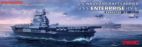 USS Enterprise CV-6 US Navy Aircraft Carrier  1/700