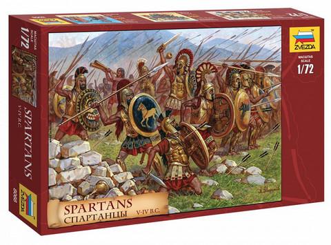 Spartans  1/72
