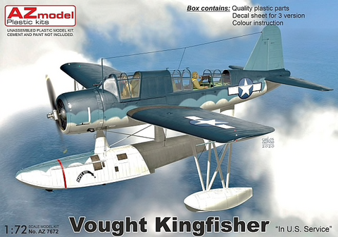 Vought Kingfisher In US Service  1/72
