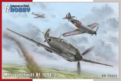 Messerschmitt Bf 109 E-3  1/72