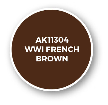 WWI French Brown