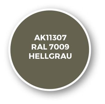 RAL 7009 Hellgrau