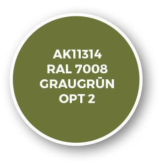 RAL 7008 Graugrün Opt 2