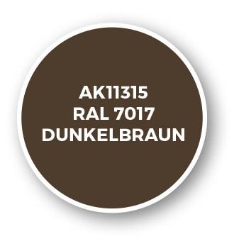 RAL 7017 Dunkelbraun