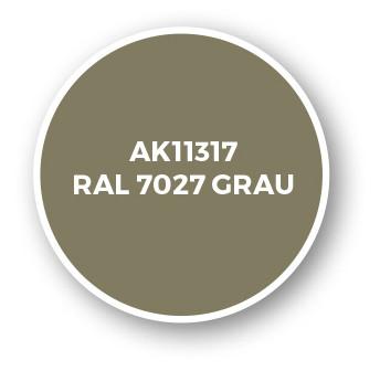 RAL 7027 Grau
