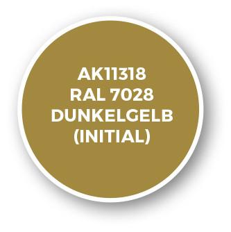 RAL 7028 Dunkelgelb (Initial)