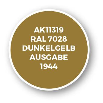 RAL 7028 Dunkelgelb Ausgabe 1944