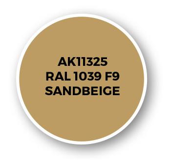 RAL 1039 F9 Sandbeige