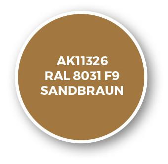 RAL 8031 F9 Sandbraun