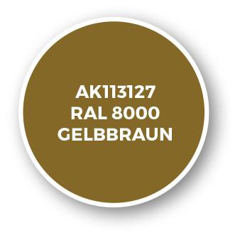 RAL 8000 Gelbbraun