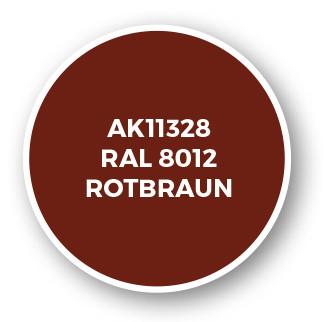 RAL 8012 Rotbraun