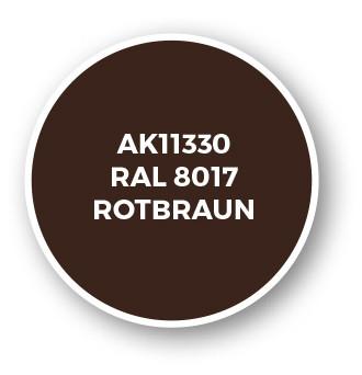 RAL 8017 Rotbraun