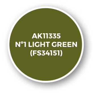 Nº1 Light Green (FS34151)
