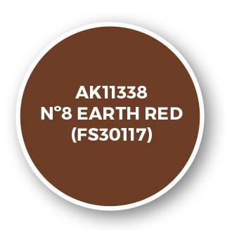 Nº8 Earth Red (FS30117)